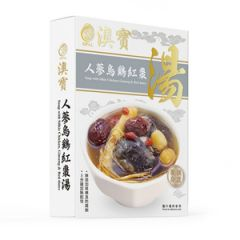 Opal - Soup with Siikie Chicken and Ginseng and Red dates 350g F00025