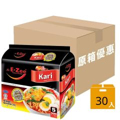 E-Zee - Curry Instant Noodles (Case Offer) F00383