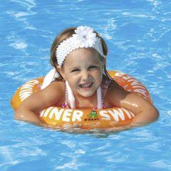 嬰幼兒學習游泳圈-橙色 F26560