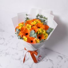 Gift Flowers HK - 明皓太陽菊花束 FB160084
