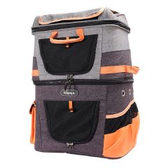 Ibiyaya - Two-tier Pet Backpack FC1980-OG