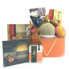 The Gift - Prmium Fruit Hamper with On Kee Abalone FG169L FG169L