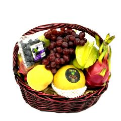 The Gift - Deluxe Fruit Hamper FH001R FH001R