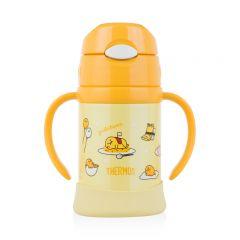 Thermos-Gudetama 250毫升吸管控溫兒童學習杯