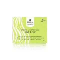 Flow Cosmetics - 活性泥炭大麻籽抗癢去屑洗髮皂