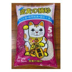 FortuneCat_B1 Fortune Cat - Jasmine scent Bentonite coarse sand