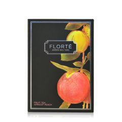 Florte - Apricot Peach Tea Bags (15 sachets) FT-022