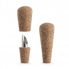 Final Touch - 2合1葡萄牙進口軟木酒塞和酒嘴(2件裝) FTA7500