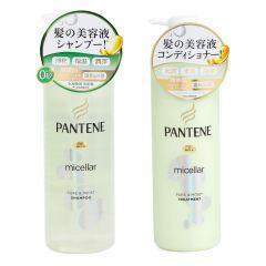 Pantene -micellar pure & moist shampoo 500ML + conditioner 500gm G00080
