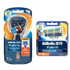 Gillette Venus - PROGLIDE 無感系列剃鬚刀 (1刀架2刀片) + 4刀片 G00092
