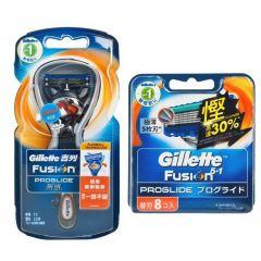 Gillette Venus - PROGLIDE 無感系列剃鬚刀 (1刀架2刀片) + 8刀片 G00093