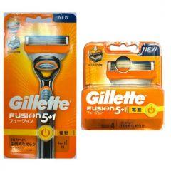 Gillette Venus - Fusion Power 5+1 Razor + Blades 4's G00098