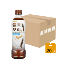 Hitejinro - BLACK BORI Light (Roasted Dark Barley Tea) (Case Offer) G00217