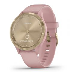 Garmin Vivomove 3S Sport Champagne/ Rose with Rose Silicone - 中文版