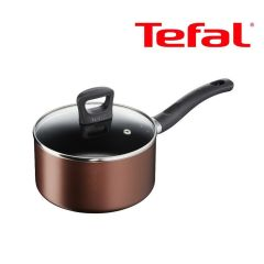Tefal - 18cm Non-stick Saucepan with Lid (IH compatible) G14323 G14323