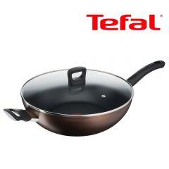 Tefal - 32厘米易潔炒鍋連玻璃蓋 (電磁爐適用) G14398 G14398