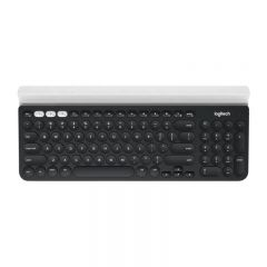 Logitech - K780 Multi-Device Wireless Keyboard (Dark Grey/Speckled White) (English) GC920-008028
