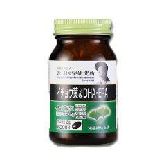 野口 - 補腦銀杏葉•DHA•EPA (1盒) [健腦益智 預防老年健忘]