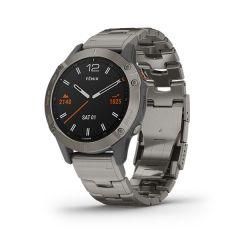 Garmin - Fenix 6 藍寶石頂級多功能運動 GPS智能手錶 (英文) (鈦金屬圈配鈦金屬錶帶) GM_FENIX6I_TI