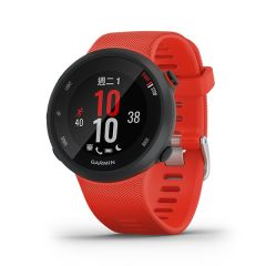 Garmin - Forerunner 45 GPS 智能跑錶 (繁中/英文) (艷緋紅色) (大碼) GM_FORERUN45TW_RD