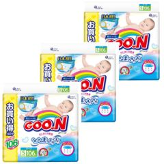 Japan Import- GOON Jumbo [FULL CASE] S106; 3 packs GOON_S106_3