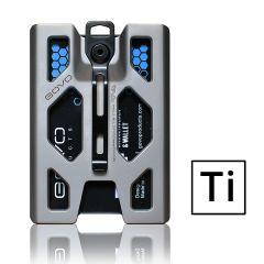 GOVO - Badge Holder & Wallet - Titanium version GOVO_TI
