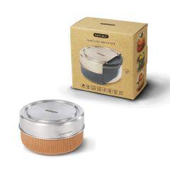 black+blum - 玻璃食物盒連不銹鋼蓋750ml (微波爐適用) (2色可選) GR-LB-L