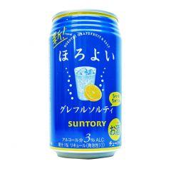 新得利 - 微醺 西柚鹽味 3% 350毫升 (1支 / 6支 / 24支) (平行進口貨品) GRAPE_SALTY_ALL