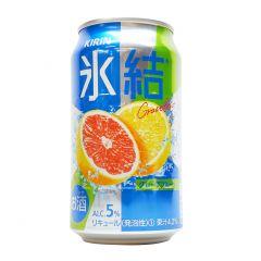 麒麟 - 冰結汽酒 西柚味 5% 350毫升 (1支 / 6支 / 24支) (平行進口貨品) GRAPEFRUIT_ALL
