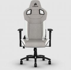 Corsair T3 Rush 人體工學高背電競椅 (Grey/White 灰/白) (COGCT3RUSH_GREYWHT) [限定免安裝費及運費]