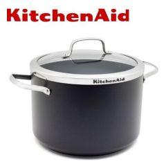 KitchenAid - Stockpot 26cm/9L with Glass Lid CC001069-001 H03754