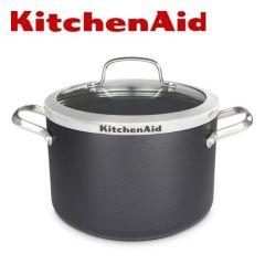 KitchenAid - Stockpot 22cm/5.3L with Glass Lid CW001973-002 H03756