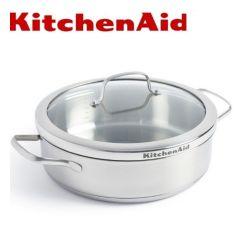 KitchenAid - 不銹鋼高身湯鍋 26cm/3.6L (配蓋) CC001886-001
