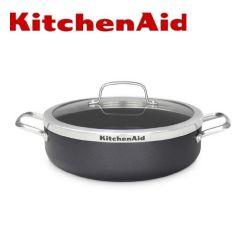 KitchenAid - 雙耳深煎鍋(配蓋) 28cm/4.2L CW001978-002