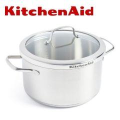 KitchenAid - 不銹鋼湯鍋 24cm/5.7L (配蓋)CC001879-001