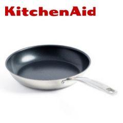 KitchenAid - 不銹鋼平底煎鑊 20cm x 43mm (CC001883-001)