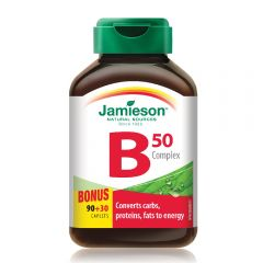 Jamieson 天然維他命B雜丸 90+30粒 H3281204885