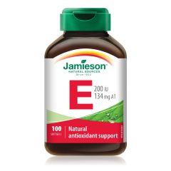 Jamieson 天然維他命E (200IU) 100粒 H3281422032