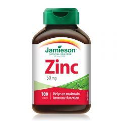 Jamieson Zinc (Gluconate) 50mg Elemental Zinc Tab 100s H3281612330