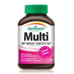 Jamieson Multivitamin For Women 100% Complete 90s H3282407868