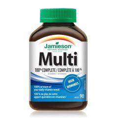 Jamieson Multivitamin For Men 100% Complete 90s H3282407870