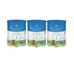 Bellamy's Organic - 貝拉米有機嬰兒奶粉1號 (0-6個月) (原箱3件) (食用期至2021年7月12日) H6680011001