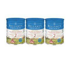 Bellamy's Organic - 貝拉米有機嬰兒奶粉2號 (6-12個月) (原箱3件) (食用期至2021年9月30日) H6680011002