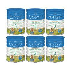 Bellamy's Organic - 貝拉米有機嬰兒奶粉3號 (12個月或以上) (原箱3件) (食用期至2021年7月14日) H6680011003