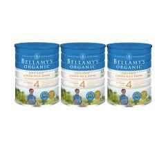 Bellamy's Organic - 貝拉米有機嬰兒奶粉4號 (3歲或以上) (原箱3件) (食用期至2021年7月25日) H6680011004
