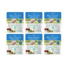 Bellamy's Organic - 貝拉米有機蘋果脆片 (12個月或以上) (原箱6件) (食用期至2021年3月16日) H6680021001