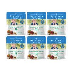 Bellamy's Organic - 貝拉米有機梨及蘋果脆片 (12個月或以上) (原箱6件) (食用期至2021年4月15日) H6680021002
