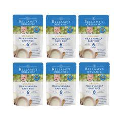 Bellamy's Organic - 貝拉米有機嬰兒牛奶香草味米糊 (6個月或以上) (原箱6件) (食用期至2021年3月3日) H6680031004