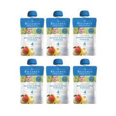 Bellamy's Organic - 貝拉米有機香蕉蘋果粥 (4個月或以上) (原箱6件) (食用期至2021年6月14日) H6680051012