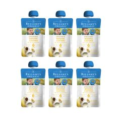 Bellamy's Organic - 貝拉米有機亞麻籽香蕉蓉 (6個月或以上) (原箱6件) H6680051016
